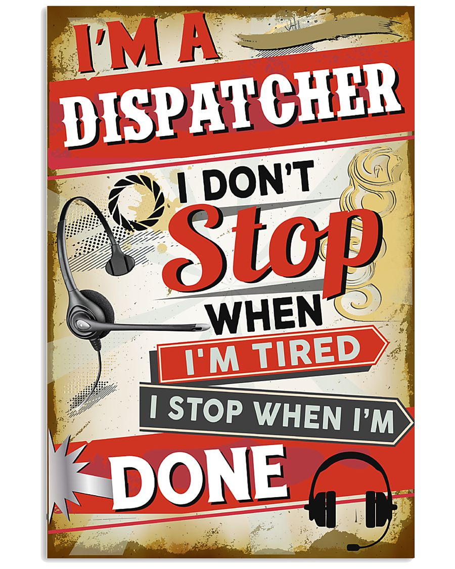 Awesome Dispatcher's Canvas and Posters 11x17 Poster