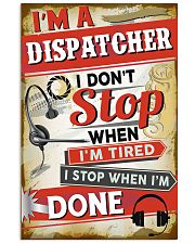 Awesome Dispatcher's Canvas and Posters 11x17 Poster front