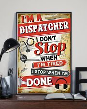 Awesome Dispatcher's Canvas and Posters 11x17 Poster lifestyle-poster-2