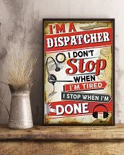 Awesome Dispatcher's Canvas and Posters 11x17 Poster lifestyle-poster-3