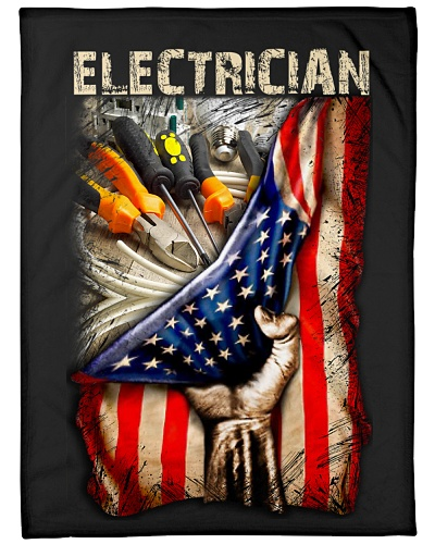 Electrician USA Flag