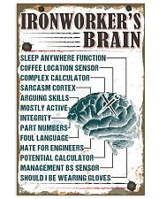 Awesome Ironworker's Canvas and Posters 11x17 Poster front