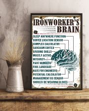 Awesome Ironworker's Canvas and Posters 11x17 Poster lifestyle-poster-3