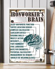 Awesome Ironworker's Canvas and Posters 11x17 Poster lifestyle-poster-4