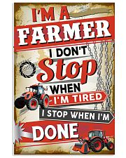 Awesome Farmer's Canvas and Posters 11x17 Poster front