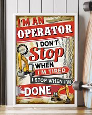 Awesome Operator's Canvas and Posters 11x17 Poster lifestyle-poster-4