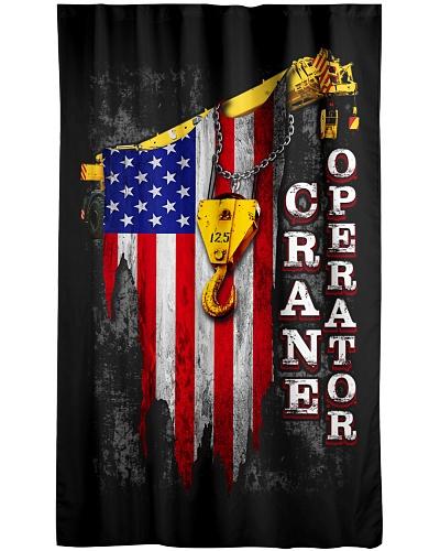 Crane Operator USA Flag