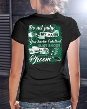 Awesome Postal Worker Shirt Ladies T-Shirt lifestyle-women-crewneck-back-3