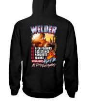 Welder- Hustle all day everyday  Hooded Sweatshirt thumbnail