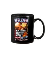 Welder- Hustle all day everyday  Mug thumbnail