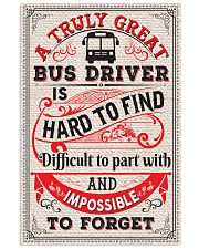 Proud Bus Driver 11x17 Poster front