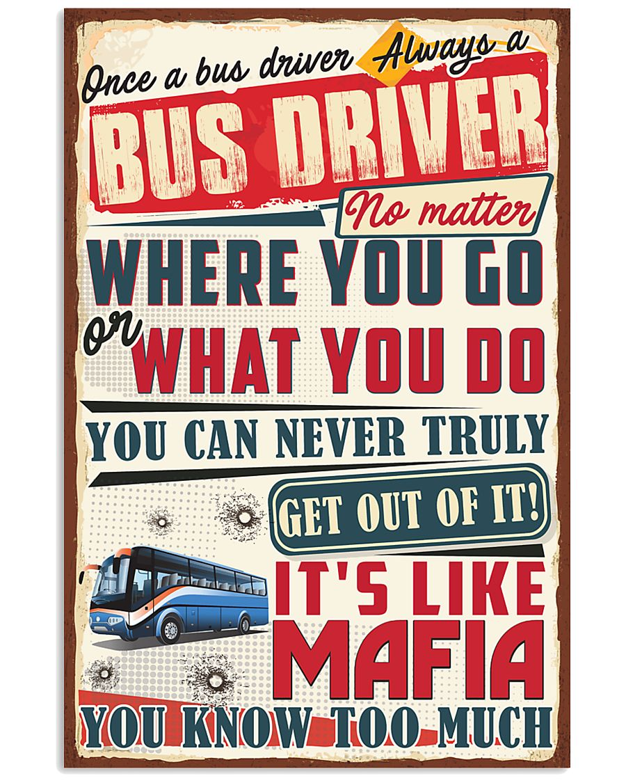 Truly Bus Driver 11x17 Poster