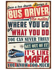 Truly Bus Driver 11x17 Poster front