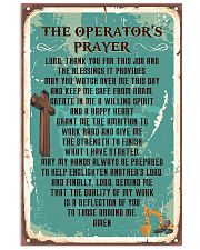Proud Operator's Canvas and Posters 11x17 Poster front