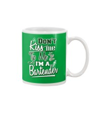 Don't Kiss Me Tip Me I'M A Bartender Mug thumbnail