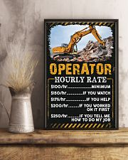 Awesome Operator's Canvas and Posters 11x17 Poster lifestyle-poster-3
