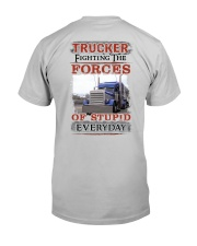 Awesome Trucker Shirt Classic T-Shirt back