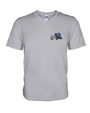 Awesome Trucker Shirt V-Neck T-Shirt thumbnail