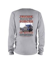 Awesome Trucker Shirt Long Sleeve Tee tile