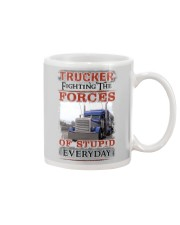 Awesome Trucker Shirt Mug thumbnail