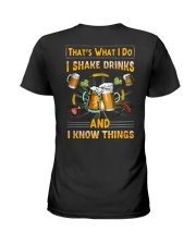 Bartender-That's What I Do Ladies T-Shirt thumbnail