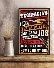 Awesome Technician's Canvas and Posters 11x17 Poster lifestyle-poster-3