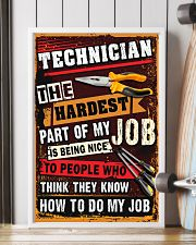 Awesome Technician's Canvas and Posters 11x17 Poster lifestyle-poster-4