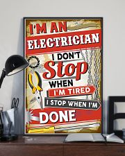 Awesome Electrician 11x17 Poster lifestyle-poster-2