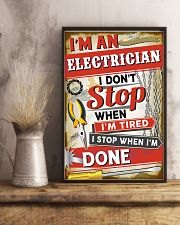 Awesome Electrician 11x17 Poster lifestyle-poster-3