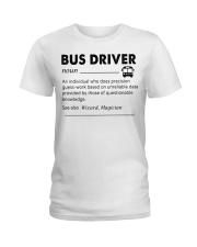 Proud Bus Driver Ladies T-Shirt thumbnail