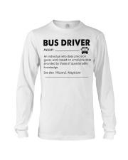 Proud Bus Driver Long Sleeve Tee thumbnail