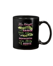 My Ironworker In Dirty Boots Mug thumbnail
