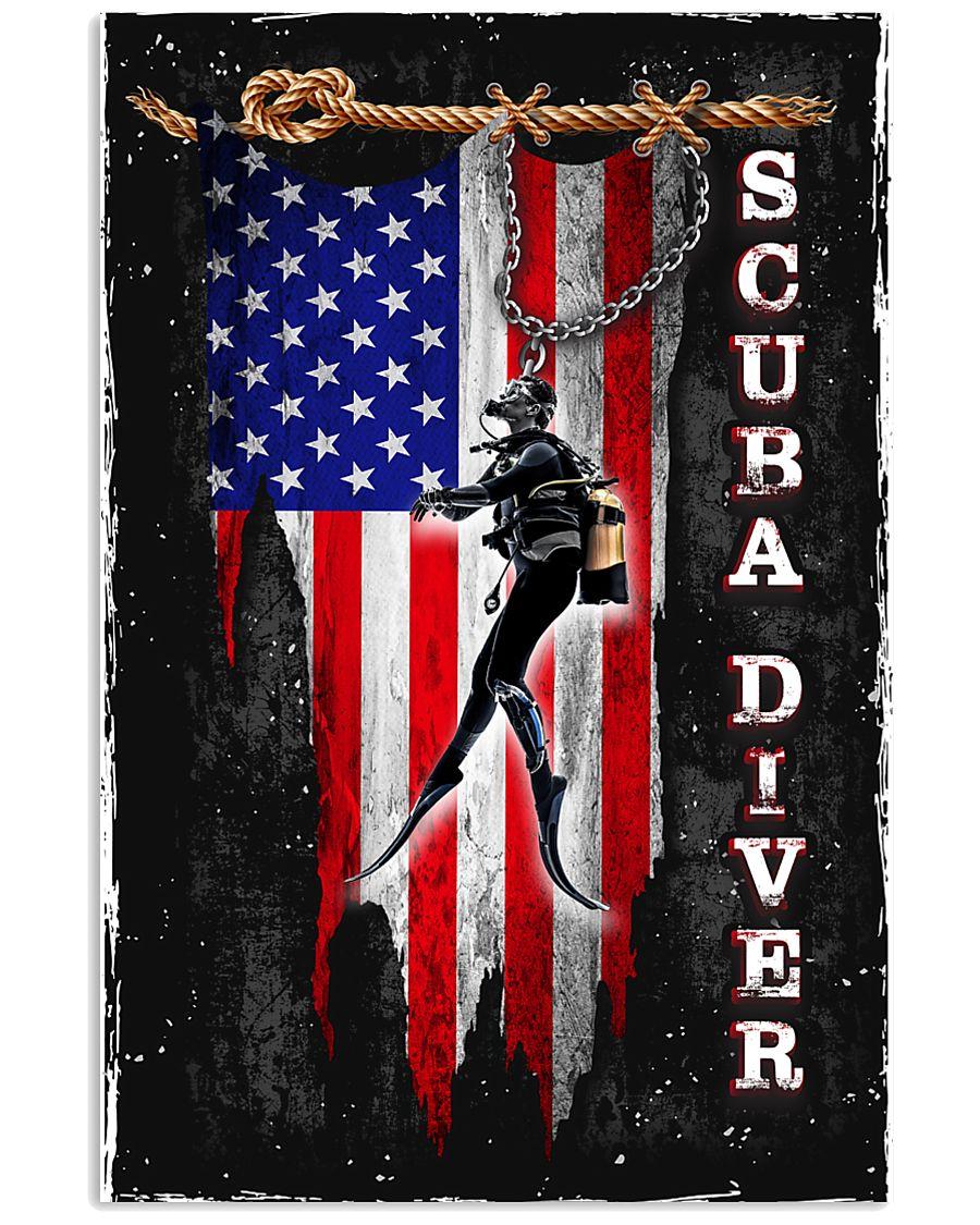 Proud Scuba Diver 11x17 Poster