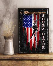 Proud Scuba Diver 11x17 Poster lifestyle-poster-3