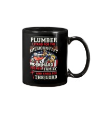 Plumber I Work Hard And Kneel For The Lord Mug thumbnail