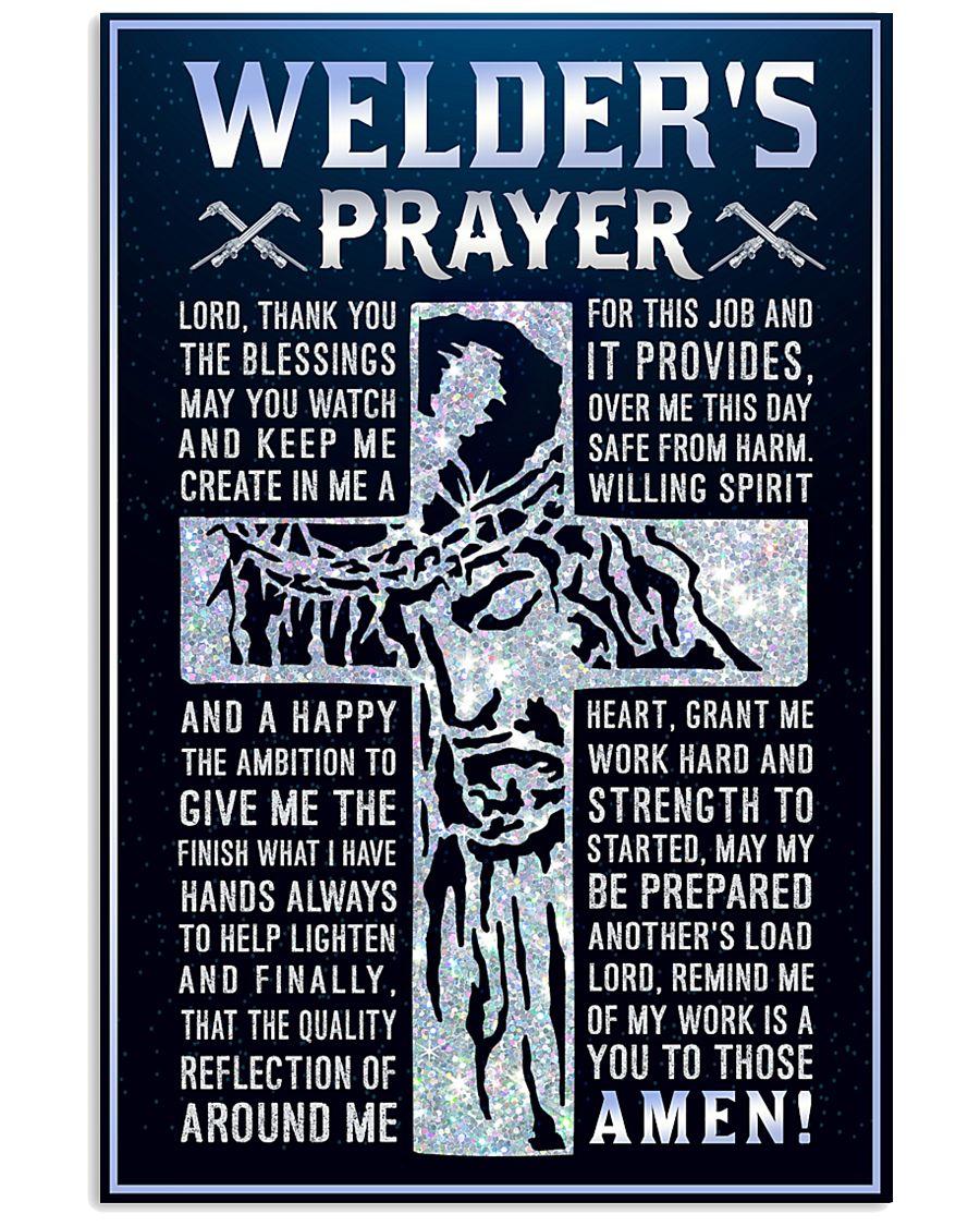 Welder's Prayer 11x17 Poster