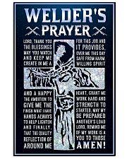 Welder's Prayer 11x17 Poster front