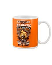 Warning Twisted Mind Mechanic Mug thumbnail