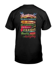 Bartender- Hustle all day everyday  Classic T-Shirt thumbnail