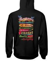 Bartender- Hustle all day everyday  Hooded Sweatshirt thumbnail