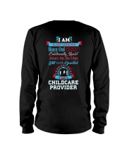 Devoted Childcare Provider Long Sleeve Tee thumbnail