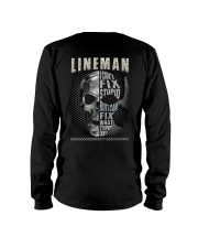 Sarcastic Lineman Shirt Long Sleeve Tee tile