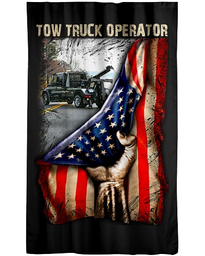 Tow Truck Operator USA Flag