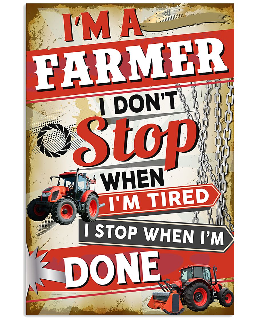 Awesome Farmer's 11x17 Poster