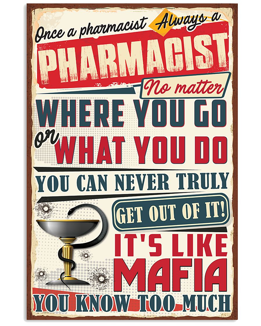 Truly Pharmacist 11x17 Poster