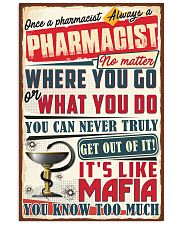 Truly Pharmacist 11x17 Poster front