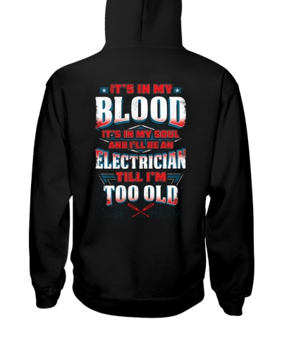 Awesome Electrician Hoodie