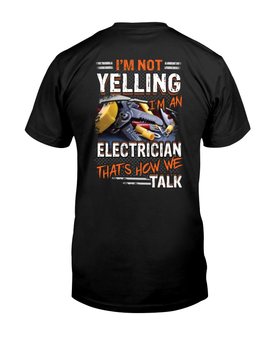 Awesome Electrician Shirt Classic T-Shirt