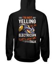 Awesome Electrician Shirt Hooded Sweatshirt tile