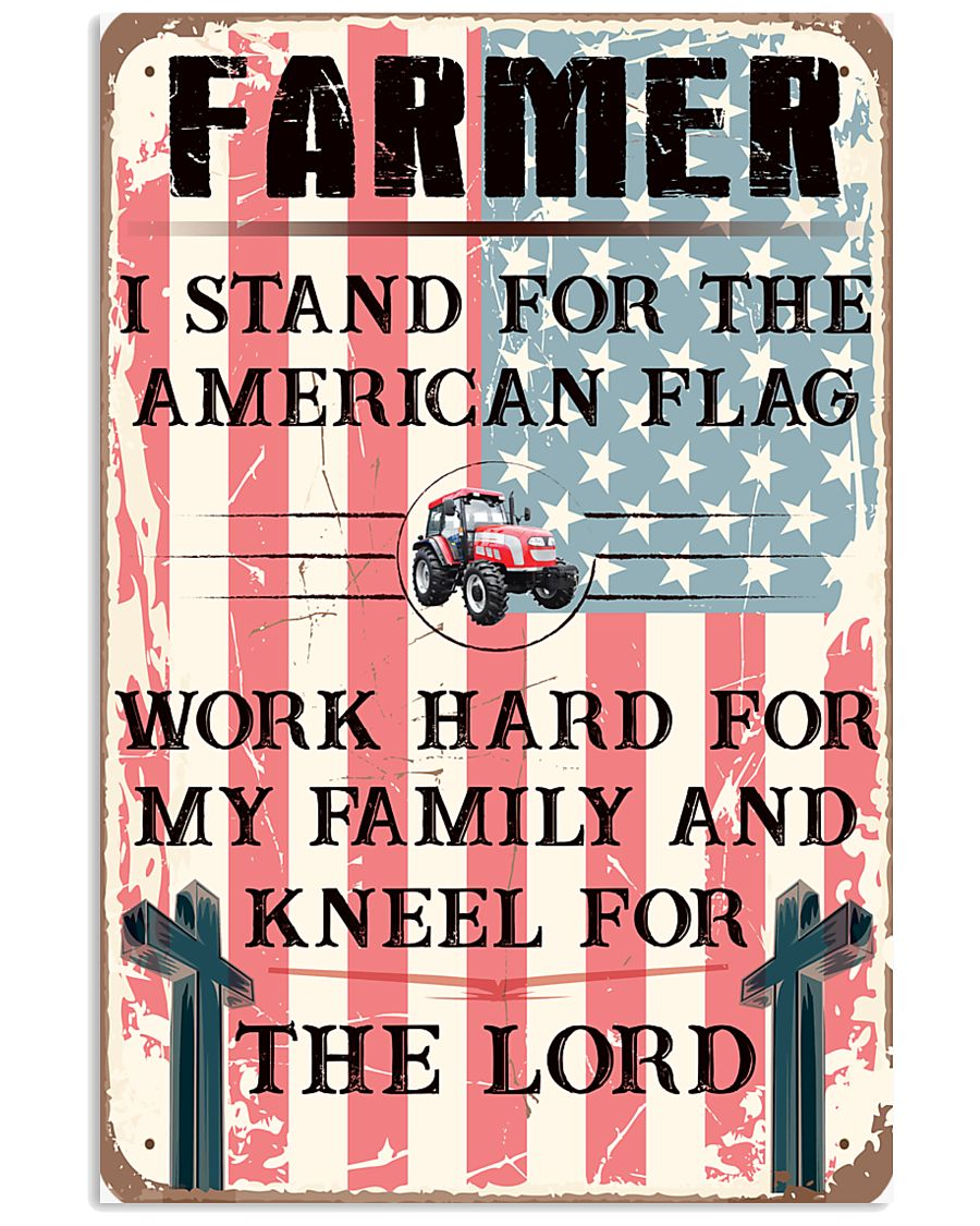 Proud Farmer's Canvas and Posters 11x17 Poster